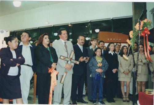 2001 Reinauguración